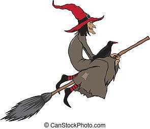 czarownica, halloween