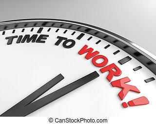 czas, żeby pracować