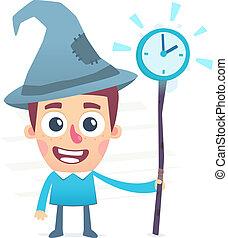 czas, czarodziej