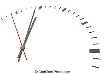 czas, dla, zmiana