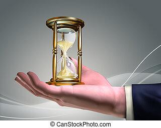 czas, fałdzisty