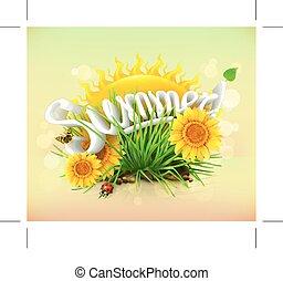 czas, lato, urlop