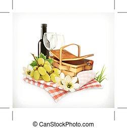 czas, piknik