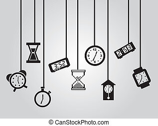 czasowe ikony