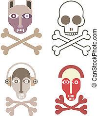 czaszka i crossbones