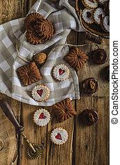 Czech Christmas cookies