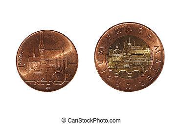 Czech Koruna coins, Czech Republic