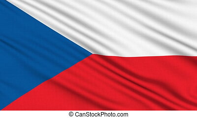 Czech Republic, with real structure of a fabric