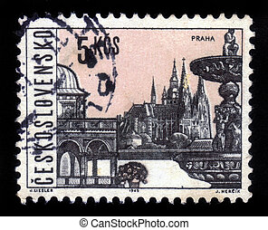 famous places and sights of Prague