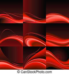 czerwona woda