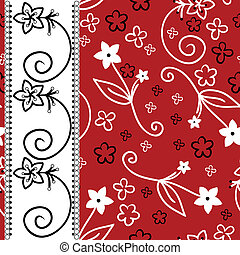 czerwone tło, z, niejaki, biały, pionowy pas