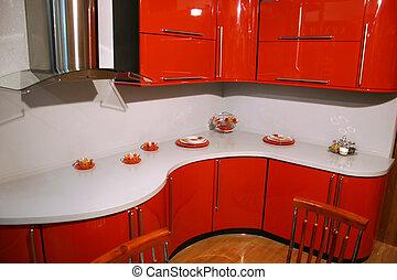 czerwony, kuchnia