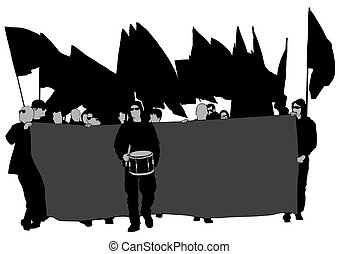 cztery, anarchia, ludzie