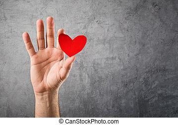 czuć się, concept., list miłosny, valentine, mój, dzień