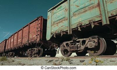 czuć się, destination., chodzenie, pociąg, kabiny, różny, ...