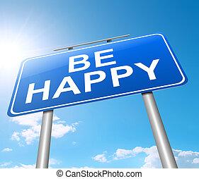 czuć się, happy.