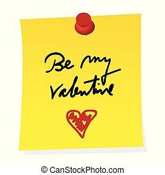 czuć się, rzeźnik, żółty, valentine, papier listowy, mój