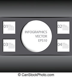 czuć się, używany, 10, format., nowoczesny, eps, projektować, może, szablon, infographics, .vector