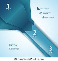 czuć się, używany, handlowy, nowoczesny, ilustracja, infographics., wektor, projektować, /, szablon, prezentacja, twój, może