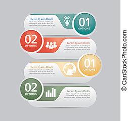 czuć się, używany, nowoczesny, projektować, może, infographics, szablon