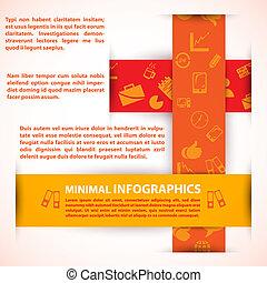 czuć się, używany, nowoczesny, /, projektować, może, szablon, infographics