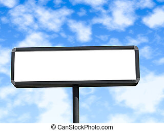 czysty, billboard.