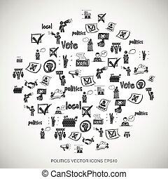 dát,  eps10, ilustrace, Ikona, rukopis, politika, vektor, čerň, Neposkvrněný,  doodles, nahý