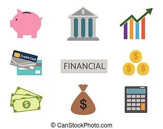 dát, finance, osamocený, vektor, grafické pozadí, neposkvrněný