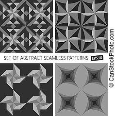 dát, o, abstraktní, seamless, pattern., vektor, eps10.