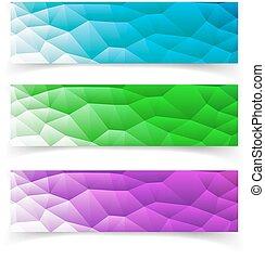 dát, o, banners., vektor, illustration., eps10, format.