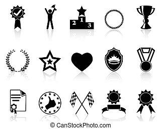dát, udělit, ikona