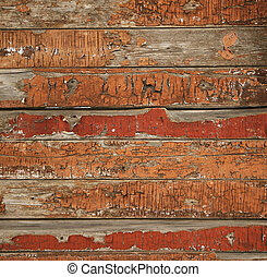dávný, dřevěné hudební nástroje tkanivo, namalovaný
