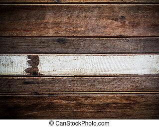 dávný, dřevo, grafické pozadí, s, proložit, jako, text