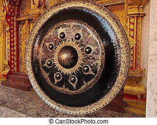 dávný, gong, do, thai, chrám