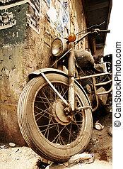dávný, jezdit na kole