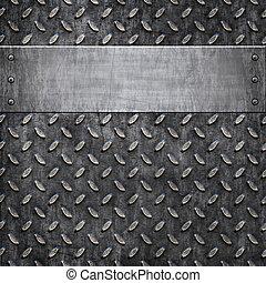 dávný, kov, grafické pozadí, tkanivo