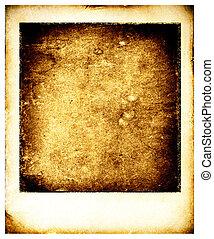 dávný, polaroid