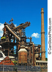 dávný, průmyslový building