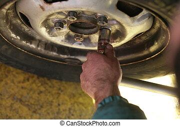 dæk, tyre, ændring