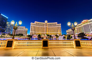 décembre, 21:, casino, -, vegas, 21, bellagio, 2013, las