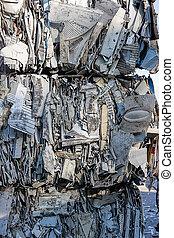 déchets ménagers, gris