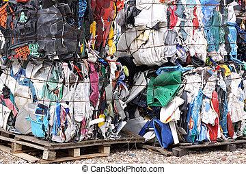 déchets, plastique