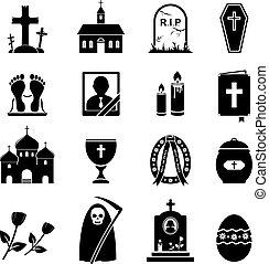 déchirure, icônes