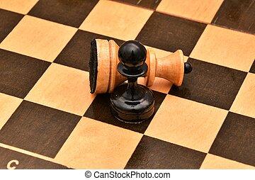 décision, concept, droit, prendre, business