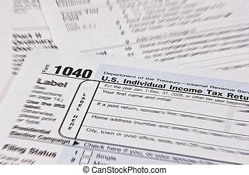 déclaration impôt, revenu