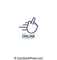déclic, magasin ligne, logo