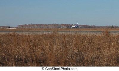 décollage, aeroflot