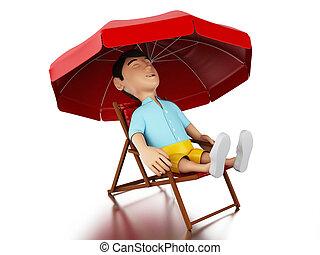 D lassant pont confort caract re insouciant chaise for Chaise 3d dessin