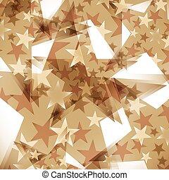 décoré, fond, étoiles