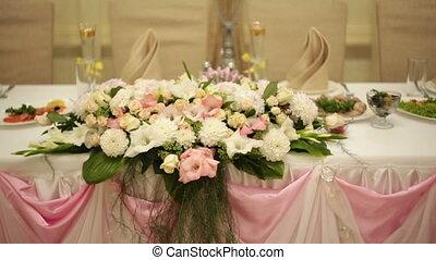 décor, table, mariage